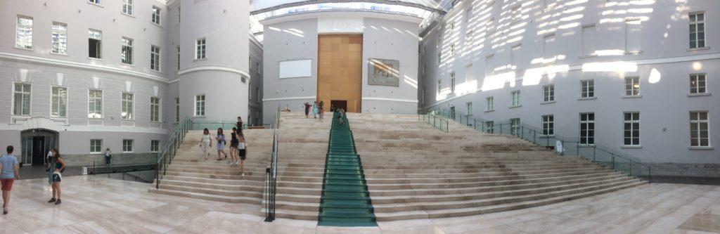 escadaria do Palácio do estado maior