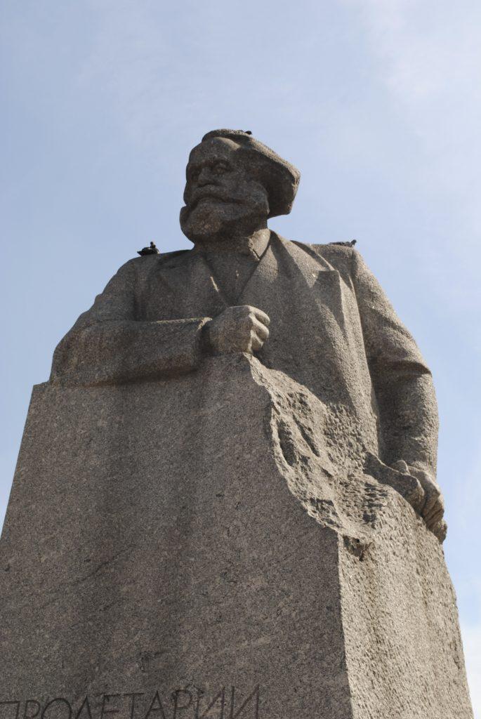 Karl Marx, Moscow