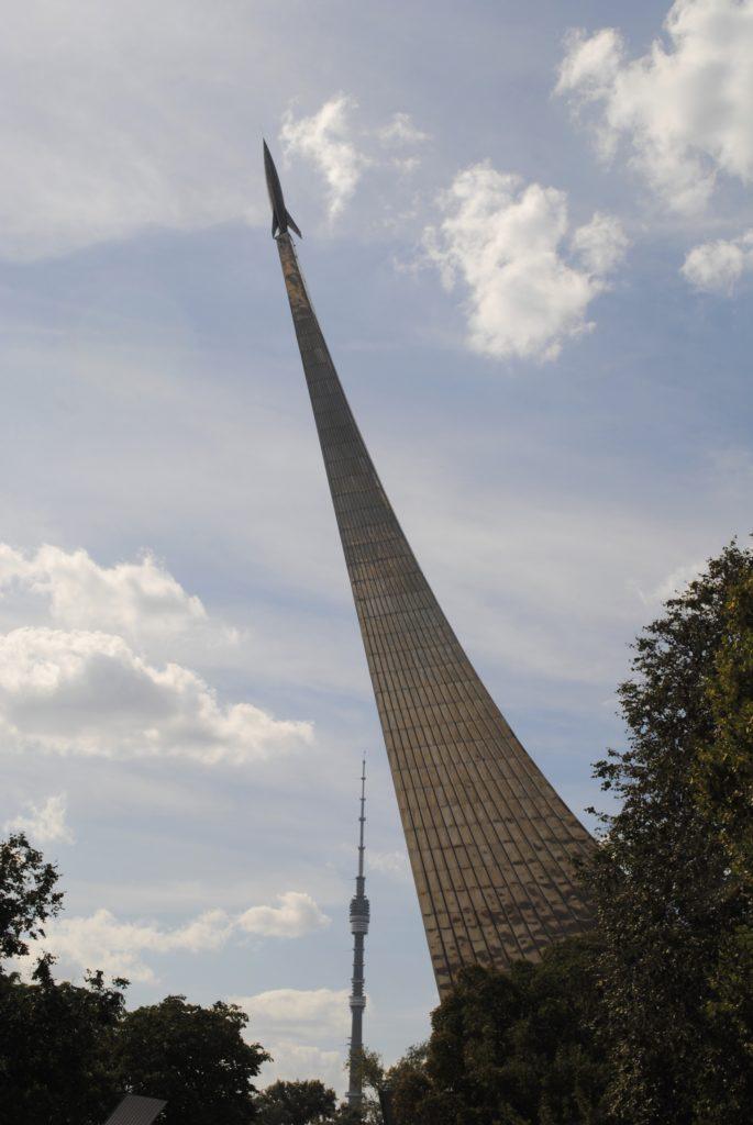 monumento dos conquistadores do espaço, Moscovo